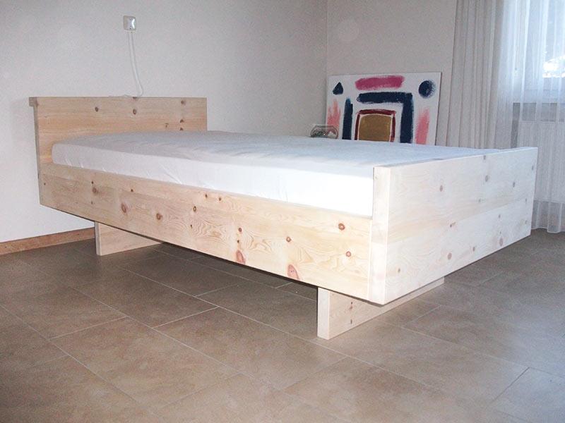 Massivholz-Bett, Betten Der Schreinerei Linsenmeyer In Heroldingen