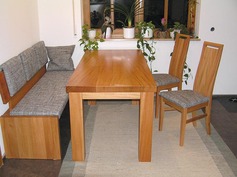 Massivholzmöbel: Tisch, Bank, Stühle | Schreinerei Linsenmeyer In Heroldingen Zwischen Donauwörth Und Nördlingen